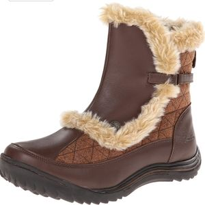 Jambu women's Eskimo snow boots boot brown fur 7W